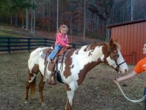 Molly On Horseback