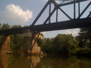 A Train Bridge north of 72!