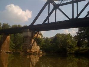 A Train Bridge north of 72!