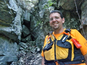 Me, at a cave