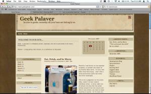 Geek Palaver