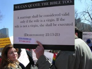 Gay's read the bible too...